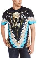 Liquid Blue Men's Bison Skull T-Shirt