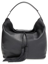 Rebecca Minkoff 'Isobel' Tassel Leather Hobo - Black