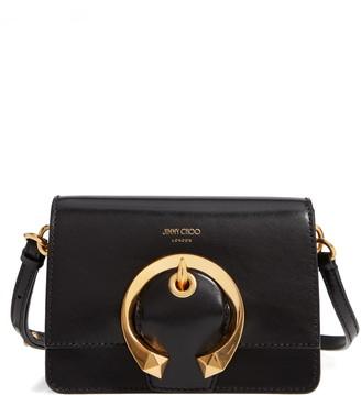 Jimmy Choo Madeline Goatskin Leather Shoulder Bag