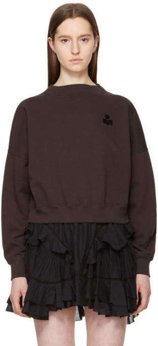 Etoile Isabel Marant Black Madilon Sweatshirt