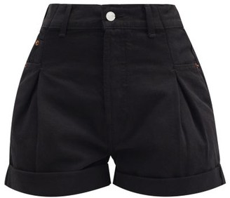 RE/DONE Zoot Turn-up Denim Shorts - Black