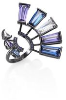 Eddie Borgo Europa Crystal Open Ring
