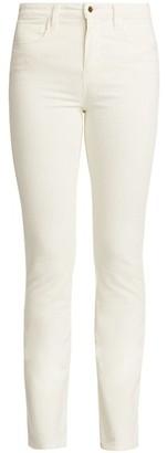 L'Agence Oriana High-Rise Corduroy Straight Pants