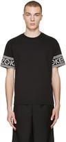 Kenzo Black Logo Sleeve T-Shirt