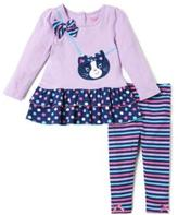 Nannette Girl's 2-Piece Top And Legging Set