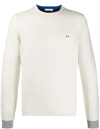 Sun 68 long sleeve knit jumper