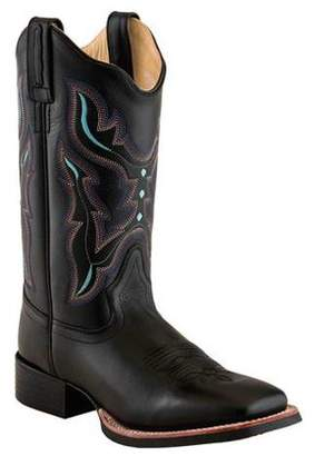 Oldwest Old West Women's Broad Square Toe Boots