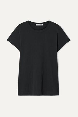 rag & bone - The Tee Slub Pima Cotton-jersey T-shirt - Black
