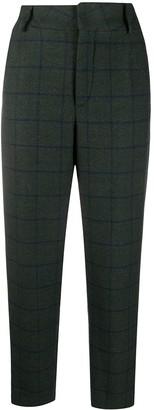 Simonetta Ravizza High-Waisted Wool Trousers