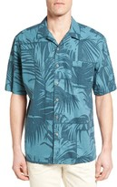 Reyn Spooner Men's Palm View Modern Fit Camp Shirt