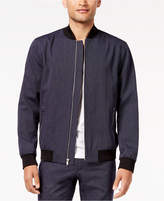 INC International Concepts I.N.C. Men's Pinstripe Bomber Jacket, Created for Macy's