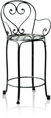 Trilogy Furniture Bistro Wrought Iron Bar Stool