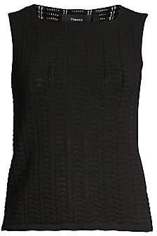 Theory Women's Crochet Tank Top