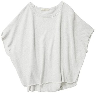 Mod-o-doc Cashmere French Terry Poncho Sweatshirt Tee (Ash Heather) Women's Clothing