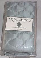 Martha Stewart Quilted King Pillow Sham Trousseau Collection Cirque Gray