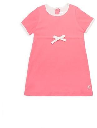 Petit Bateau Baby Girl's Cotton Knit Dress