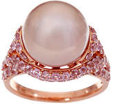 Honora Ming Cultured Pearl & Pink Spinel Ring, 14K, 2.00 cttw