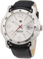 Tommy Hilfiger Men's Quartz Watch 1790899 1790899 with Leather Strap