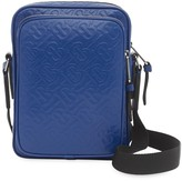 Burberry Monogram-embossed messenger bag