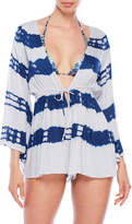 Raviya Tie-Dye Romper Cover-Up
