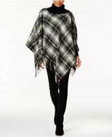 Lauren Ralph Lauren Tartan Triangle Poncho