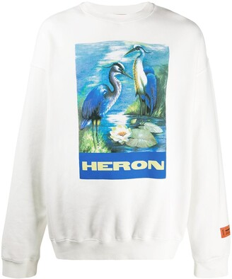 Heron Preston Bird-Print Sweatshirt