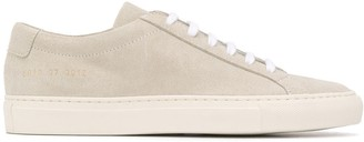 Common Projects Textured Stitch Detail Lace-Up Sneakers