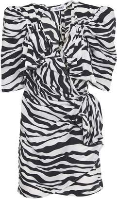 ATTICO The Zebra Print Mini Dress