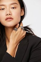 Free People Panther Charm Ring Set