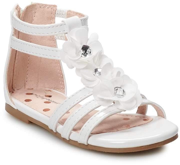18195ce7de204 Jumping Beans Cookie Dough Toddler Girls' Gladiator Sandals
