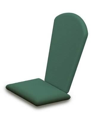Polywood Indoor/Outdoor Sunbrella Adirondack Chair Cushion Fabric: Spa