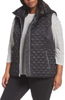 Andrew Marc Plus Size Women's Caitlin Quilted Vest