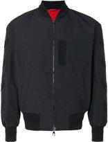 Neil Barrett arrow detail bomber jacket