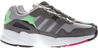 adidas Yung Grey Suede & Mesh Sneakers