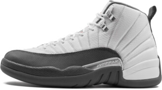 Jordan Air 12 Retro 'Dark Grey' Shoes - 8