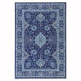 Mohawk Home Cascade Heights Parquet Rug in Indigo