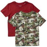Wallis **Boys 2 Pack Assorted Short Sleeve T-Shirts (18 months - 6 years)