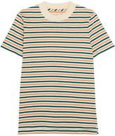 Madewell Striped Cotton T-shirt - Green
