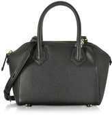Rebecca Minkoff Genuine Leather Micro Perry Satchel