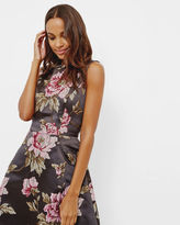 Ted Baker Floral jacquard skater dress