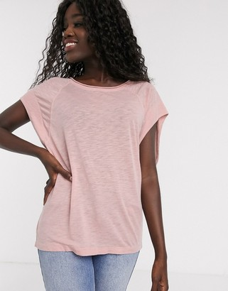 Free People halo tee in pink