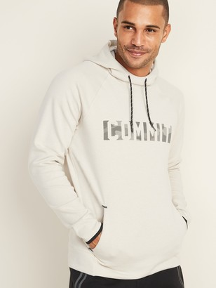 Old Navy Graphic Dynamic Fleece Pullover Hoodie for Men