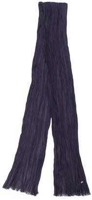 Saint Laurent skinny crepe scarf