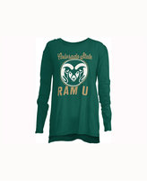 Royce Apparel Inc Women's Colorado State Rams Noelle Long-Sleeve T-Shirt