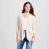 August Moon Women's Pointelle Flyaway Topper with Lace Back
