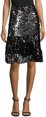 Manoush Trash Sequin Skirt