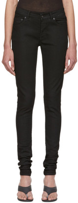 Rick Owens Black Silverlake Cut Jeans