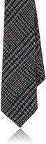 Alexander Olch MEN'S HOUNDSTOOTH & GLEN PLAID WOOL NECKTIE