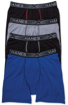 Hanes Men's 4-Pk. X-Temp Boxer Briefs