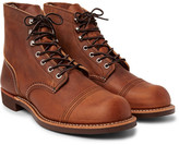 Red Wing Shoes Iron Ranger Oil-tanned Leather Boots - Brown